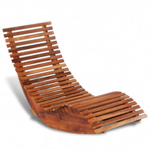 Balansoar sezlong din lemn de acacia - V42652V
