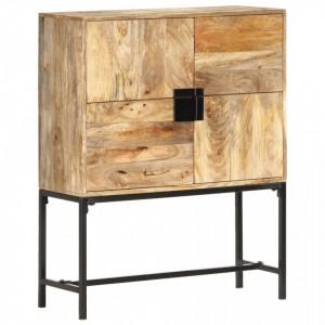 Comoda, 80 x 30 x 100 cm, lemn masiv de mango - V285867V