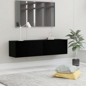Comoda TV, negru, 120 x 30 x 30 cm, PAL - V801491V