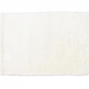 Covor 140x200 cm, alb, AMIDA