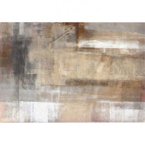 Covor 180x270 cm, maro/gri, ESMARINA TYP 1