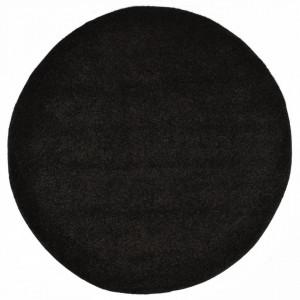 Covor cu fir lung, negru, 160 cm - V285055V