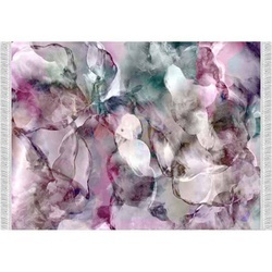 Covor, model roz/verde/crem, 120x180, DELILA