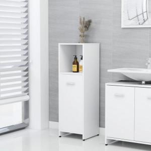 Dulap de baie, alb, 30 x 30 x 95 cm, PAL - V802588V