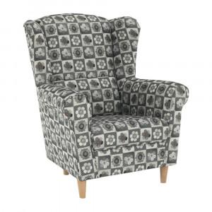 Fotoliu, material textil în stilul patchwork N1, CHARLOT