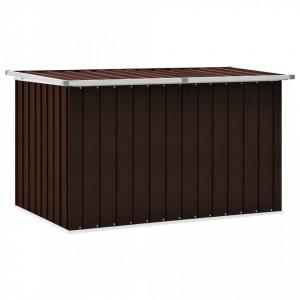 Lada de depozitare pentru gradina, maro, 149 x 99 x 93 cm - V46268V