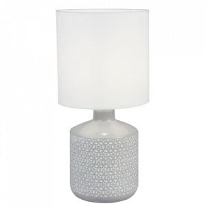 Lampă de masă, albă / gri, OFRED