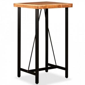 Masa de bar, lemn masiv de acacia, 60 x 60 x 107 cm - V245435V
