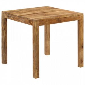 Masa de bucatarie, 82 x 80 x 76 cm, lemn masiv de mango - V246704V