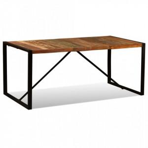 Masa de bucatarie din lemn masiv reciclat, 180 cm - V243999V