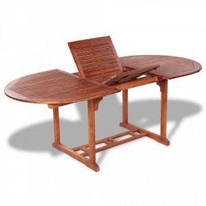 Masa de gradina, 200 x 100 x 74 cm, lemn masiv de acacia - V41818V
