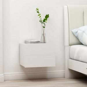 Noptiera, alb, 40 x 30 x 30 cm, PAL - V801053V