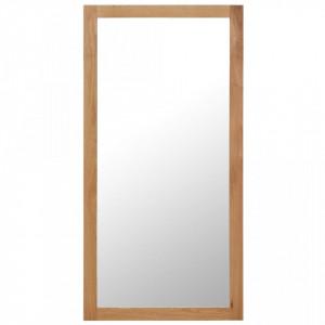 Oglinda, 60 x 120 cm, lemn masiv de stejar - V247458V