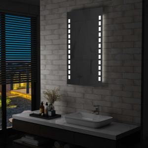Oglinda cu LED de perete de baie, 60 x 100 cm - V144698V