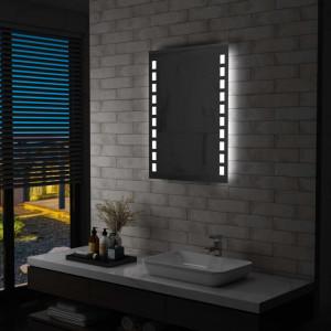 Oglinda cu LED de perete de baie, 60 x 80 cm - V144697V