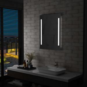Oglinda cu LED de perete de baie, 60 x 80 cm - V144703V