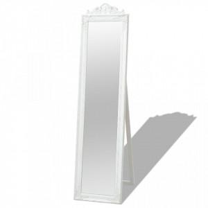 Oglinda in stil baroc independenta, alb, 160 x 40 cm - V243691V