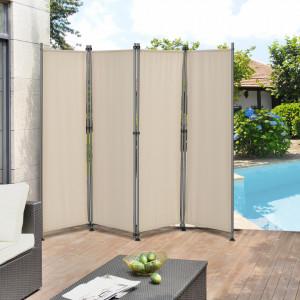 Paravan solar/Separator exterior Duna, protectie vizuala, 215 x 170 cm, poliester, bej/culoarea nisipului - P56718035