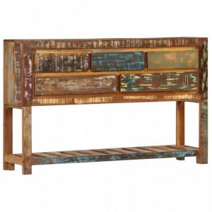 Servanta, 120 x 30 x 75 cm, lemn masiv reciclat - V247478V