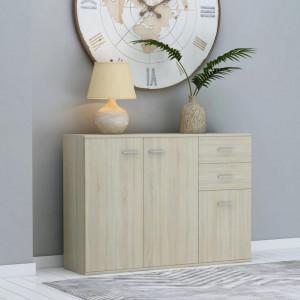 Servanta, stejar Sonoma, 105 x 30 x 75 cm, PAL - V800696V