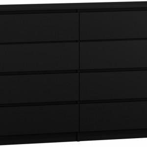 TECON106 - Comoda 120 x 40 x 97 cm, Negru-Mat