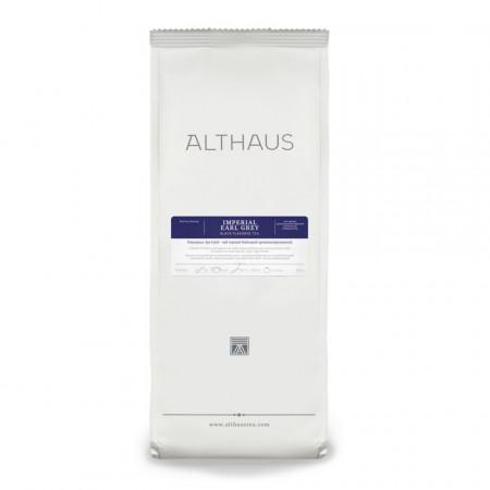 Althaus Loose Tea Imperial Earl Grey: ceai negru cu aroma de bergamota, ceai vrac, punga 250g