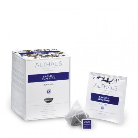 Althaus Pyra Pack Classic Herbs: Infuzie de plante, 15 plicuri in cutie,2,75g ceai in plic din mătase