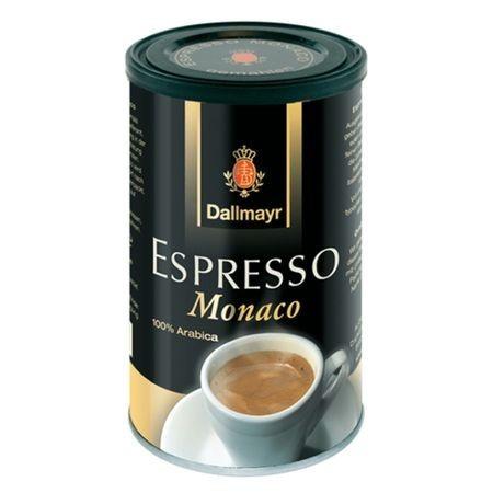 Cafea macinata Dallmayr Espresso Monaco, Cutie Metalica, 200g, 100% Arabica, Espresso