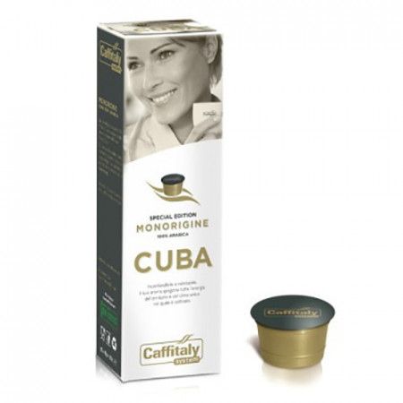 Caffitaly Capsule Cafea Special edition – Single Origine - CUBA