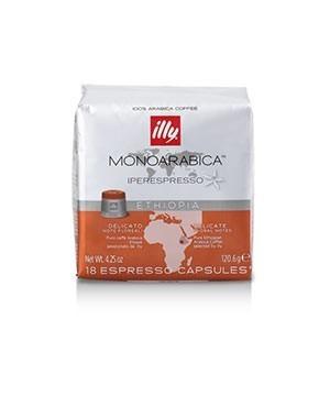 Capsule cafea Illy Iperespresso Cube Ethiopia, 18 capsule, 126 grame