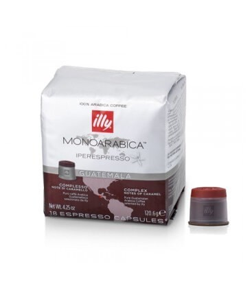 Capsule cafea Illy Iperespresso Cube Guatemala, 18 capsule, 126 grame