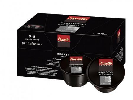 Capsule cafea Piacetto Espresso, 96 capsule, cafea arabica, Brazilia, gust aromat, o crema corpolenta, un corp plin