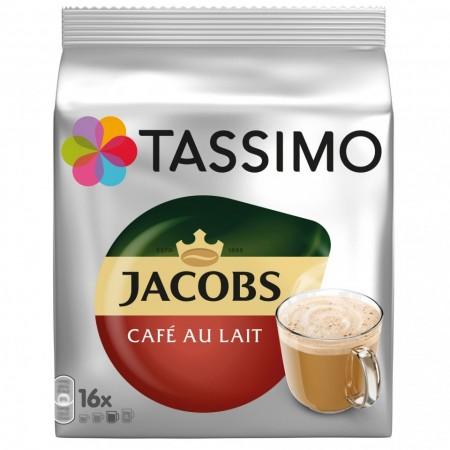 Capsule cafea Tassimo Cafe Au Lait, 16 capsule, 184 grame