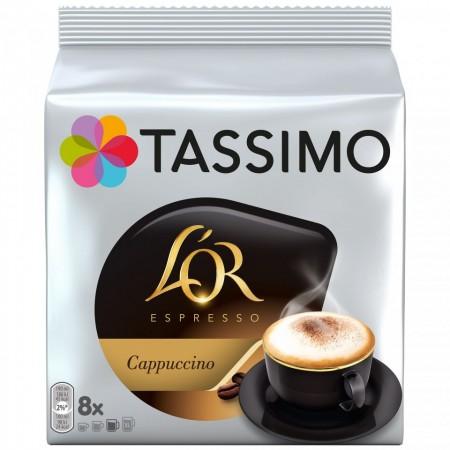 Capsule cafea Tassimo L`OR Cappucino, 8 capsule, 267 grame