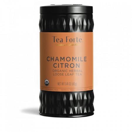 Chamomile Citron - Ceai de plante cu musetel organic, hibiscus, menta, verbina si radacina de lemn dulce