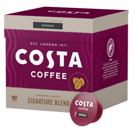 Costa Espresso Signature Blend Medium, Capsule de Cafea Compatibile Dolce Gusto, 16 buc.