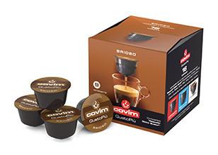 COVIM GUSTO Capsule Cafea PIU BRIOSO tip Dolce Gusto, set - 16buc