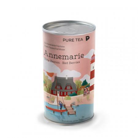 Pure Tea Bio Loose Annemarie Red Berries - infuzie fructe, fructe uscate, la cutie, 25gr