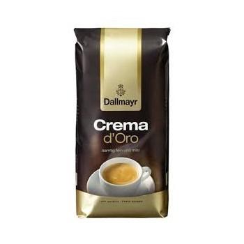 Cafea boabe Dallmayr Crema D`oro, 1kg, Pachet nevidat, Cafea Amestec, Mediu Prajita, Aromata, Crema Aurie