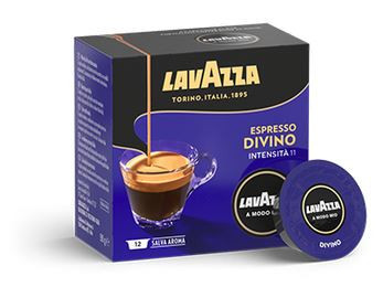 Capsule cafea A modo Mio Divino 16 capsule, 120 grame, cafea amestec, India si Etiopia, gust catifelat, note de cacao, fructe exotice