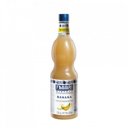 Fabbri MIXYBAR BANANA - Cocktailuri, Granite, Smoothie-uri, Milkshake, Sorbete, Sticla din plastic, 1 litru