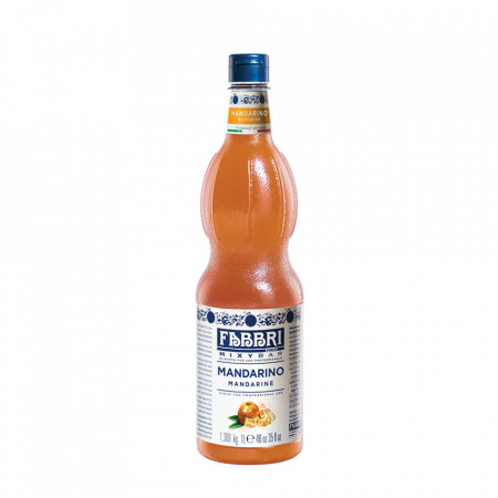 Fabbri MIXYBAR MANDARINE - Cocktailuri, Granite, Smoothie-uri, Milkshake, Sorbete, Sticla din plastic, 1 litru