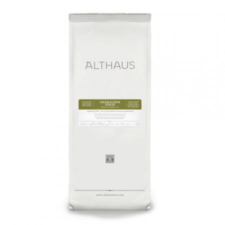 Althaus Loose Tea Arabisher Sheik: ceai verde aromat, ceai vrac, punga 250g