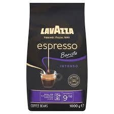 Cafea Boabe Lavazza Espresso Barista Intenso, 1kg, Black Espresso, Cappuccino, Latte