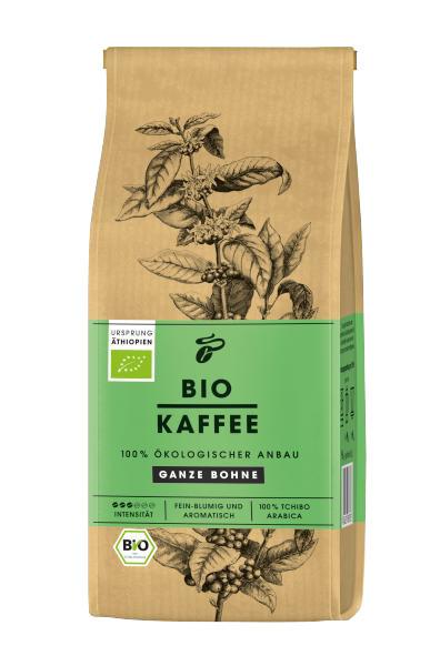 Cafea Boabe Tchibo BIO, pachet 250g, Etiopia