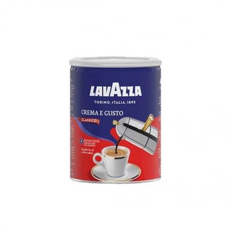 Cafea Macinata Lavazza Crema e Gusto, Cutie Metalica, 250g