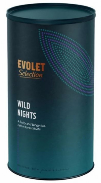 Ceai EVOLET Selection infuzie TUB - Wild Night's, 250g ceai in tub de carton