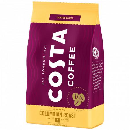 Costa Colombian Roast, Cafea Boabe, 500g, Gust Bogat cu Note de Miere, Prajire Medie