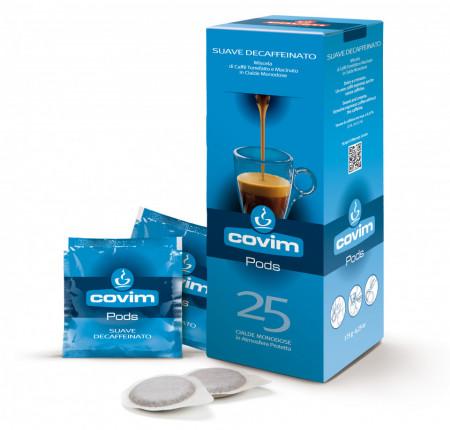 COVIM Decaf Suave Cafea Doza, Fara Cofeina, 7g/doza, set – 25 buc