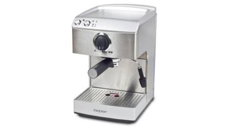 Espressor Electric Beper, 1.7l, 15bar, 1250W, Corp din Otel, Dispozitiv Spumare Lapte